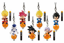 Dragon Ball QD Mascot Figure Strap Collection Complete Set (7) Bandai
