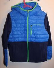 New Free Country hooded hybrid jacket boys size M (10-12)