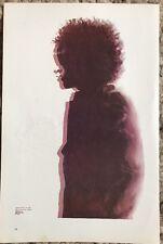 "Bob Dylan & MC5 Grande Ballroom 1968 2 Sided Vintage 70's Rock Poster 15""x10 R52"