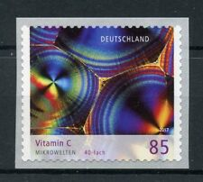 Germany 2017 MNH Microworld Vitamin C 1v S/A Coil Set Science Stamps