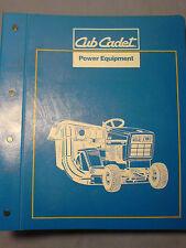 CUB CADET LAWN TRACTOR PARTS AND ATTACHMENTS MANUAL 772-3975