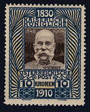 Ö 1910 Geburtstagsausgabe ANK 177 Postfrisch ** MNH BHG ND