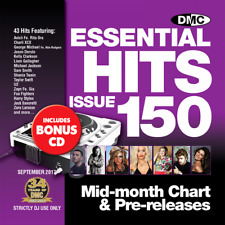 Essential Hits 150 Chart Music DJ CDs - Radio Edit Tracks Double Disc Issue