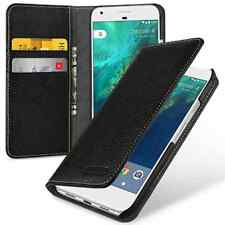 TETDED ® Premium Leather Case for Google Pixel - Gerzat II (LC: Black) Ships CA