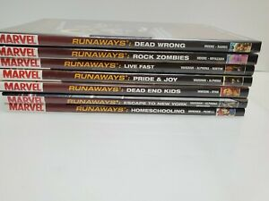 Marvel Premier Edition Runaways Lot of 7 Graphic Novels all Brand New sealed