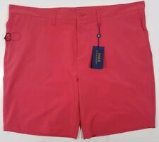 Polo Ralph Lauren All Day Beach Shorts Quick Dry Tropical Pink 40 NEW $75