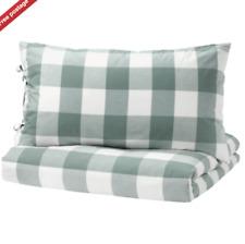 IKEA EMMIE RUTA King Quilt Cover - Duvet Cover + 2 pillowcases 240x220cm