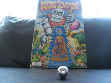 Replacement Metal Steel Ball / Ballbearing / Marble for Vintage Tomy Kongman 80s