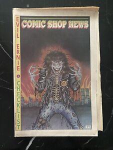 CSN COMIC SHOP NEWS # 232 RARE 1ST EVIL ERNIE 1 PREVIEW COVER TMNT COMIC STRIP