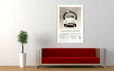 """1963 VOLKSWAGEN VW BEETLE 1200 AD PRINT WALL POSTER PICTURE 33.1""""x23.4"""""""