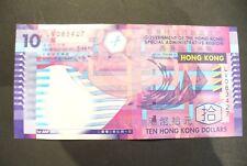 BILLET  HONG KONG   -   //  10 DOLLARS 2002  //   ETAT COURANT   !!
