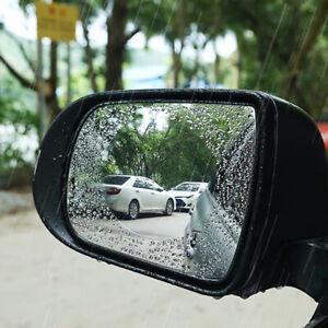 2Pcs Rainproof Car Rearview Mirror Sticker Anti-fog Protective Film Accessories