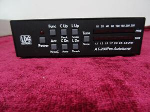 Amateur Radio   LDG AT- 200Pro Autotuner  Unused