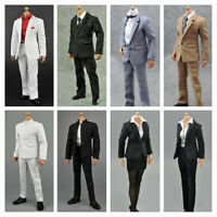 "1/6 Scale Gentleman/ Woman Suit Set Outfits For 12"" Figure Hot Toys Sideshow NEW"