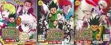 Anime Hunter X Hunter Season 2 (2011) Vol. 1-148 end Complete DVD Box Set