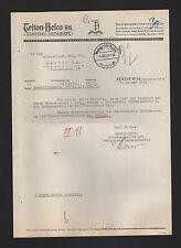 BERLIN, Brief 1939, Triton-Belco AG sanitäre Apparate
