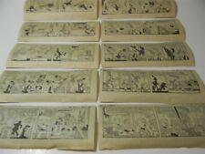 Vintage Aug 1971 Bugs Bunny Warner Bros Newspaper Comic Strip Lot of 10 1970s 5B