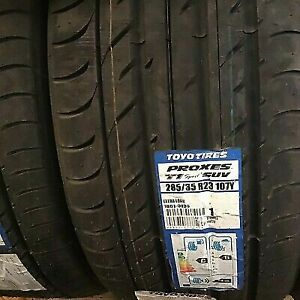BRAND NEW TOYO SPORT CAR/SUV/4X4 285/35/23 285 35 ZR23 XL 107Y 285 35 23 C+B