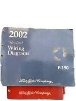 2002 FORD F150 TRUCKS FACTORY SHOP WIRING DIAGRAMS MANUAL F-150