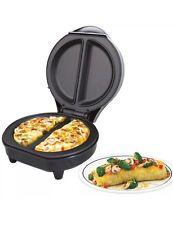 Omlet antiadhésif electric omelette maker oeuf petit déjeuner cuisine uk stock neuf