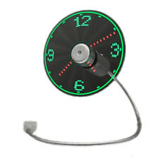 LED Fan Clock with USB Connection