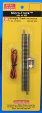 Z Scale - MICRO-TRAINS MTL 990 40 905 Straight Track with Electrical Clip & Wire