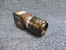 Keyence CV-035M CV035M CCD HIGH SPEED DIGITAL CAMERA w 1 1/4 LENS