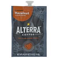 Flavia/Alterra HAZELNUT Coffee A185 Case/Box 100 Pack/Pods 5 Rails MEDIUM ROAST