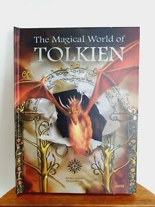 Magical World Of Tolkien Book Camprubi Kloezko Auzou LOTR Hobbit Gollum