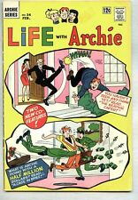 Life With Archie #34-1965 vg+ Beatnik cover / story / Betty Veronica