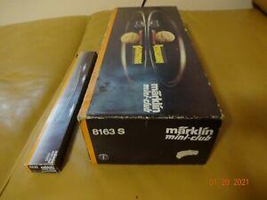 Märklin Mini-Club 8163 S / Z Scale +Marklin - 8530