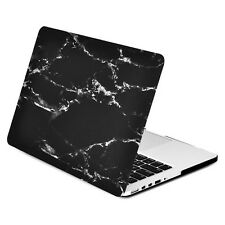 """Black Marble Matte Hard Case for MacBook Pro 15"""" with Retina Display Model A1398"""