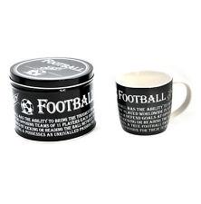 FOOTBALL FOU - EMAIL Mug et étain Coffret cadeau