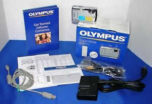 OLYMPUS STYLUS 720SW DIGITAL CAMERA IN BOX COMPLETE ~ WORKING CONDITION!