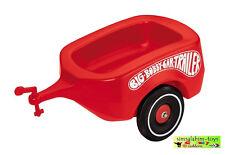 BIG Bobby Car Trailer Anhänger Rot Classic #1300  ~*~ NEU ~*~