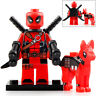 Deadpool & Dog - Marvel Lego Moc Realistic Minifigure Gift For Kids