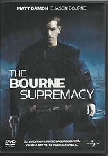 The Bourne supremacy (2004) DVD