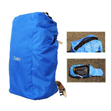 Waterproof Bag Backpack Rucksack Rain Cover Travel Camp Hiking Outdoor Pack Blue