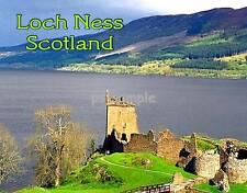 Scotland - LOCH NESS - Travel Souvenir Fridge Magnet