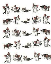 One Stroke Sticker,Tiere,Katze,Tattoo, Aufkleber  Nr.1291