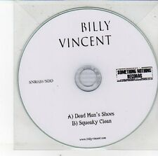 (EH139) Billy Vincent, Dead Man's Shoes / Squeaky Clean - 2012 DJ CD