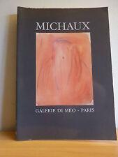 ++ Henri MICHAUX * Peintures * Galerie Di Meo 1987