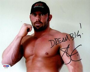 SHANE CARWIN SIGNED AUTOGRAPHED 8x10 PHOTO MMA UFC PSA/DNA