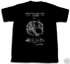 Rogers Dynasonic Kleine Trommel Patent Shirt Dyna Neu Thompson S M L XL XXL