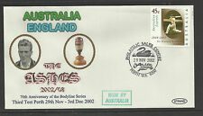 AUSTRALIA v ENGLAND ASHES 2002/03 SERIES 3rd TEST MATCH PERTH COVER