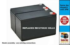 More details for  cyberpower rb1270x2c - replacement ups cells (2 cells) - uses exising leads