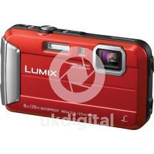 Panasonic Lumix DMC-FT30 Camera Red + FREE 16GB