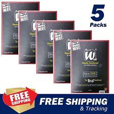 5 Pack (15 Wipe) Once A Week Weekly Deodorant heal Biological Body Underarm Odor