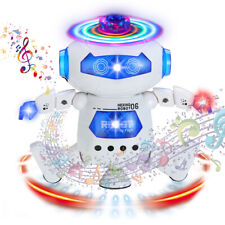 Dancing Robot Toys for Boys Kids Toddler Musical Light Toy Birthday Xmas Gift