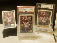 1992 Topps Shaquille O'Neal Rookie (3) Lot: #362 PSA 10 GEM-MT, Gold BGS 8 Magic